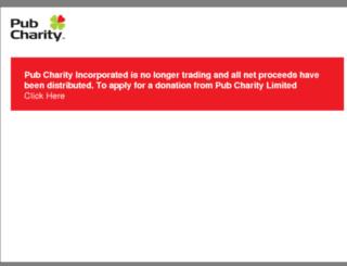pubcharity.org.nz screenshot