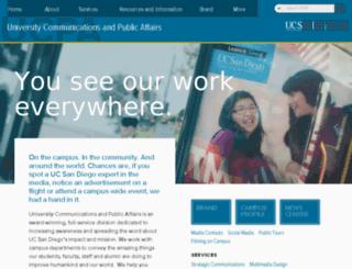 publications.ucsd.edu screenshot