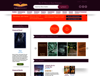 publicbookshelf.com screenshot