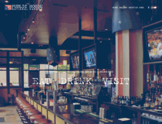 publichousenationalharbor.com screenshot