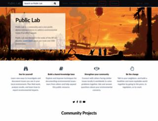 publiclab.org screenshot
