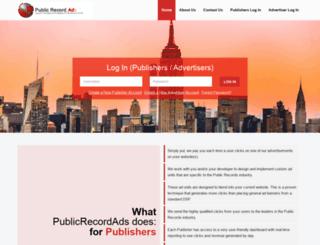 publicrecordads.com screenshot