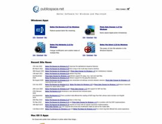 publicspace.net screenshot
