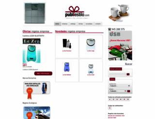 publiestilo.com screenshot