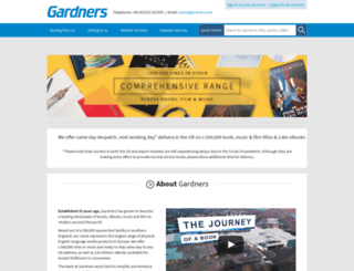 Publink.gardners.com Screenshot