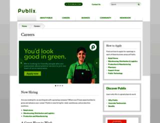 publix.jobs screenshot