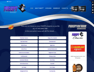 pubspy.com.au screenshot