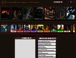 pueblosoriginarios.com screenshot