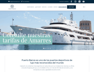 puerto-banus.com screenshot