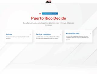 puertoricodecide.com screenshot