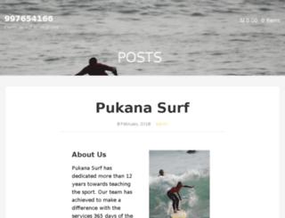 pukanasurf.com screenshot