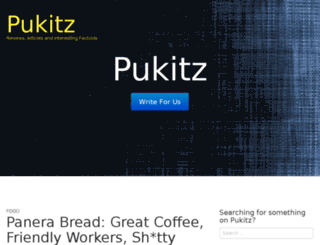 pukitz.com screenshot