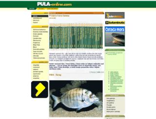pula-online.com screenshot