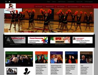 pulaskischools.org screenshot