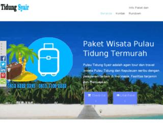 pulautidungsyair.com screenshot