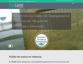 pulicarlet.com screenshot