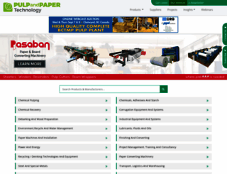 pulpandpaper-technology.com screenshot