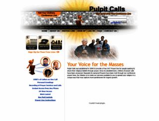 pulpitcalls.com screenshot