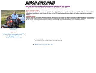 pulse-jets.com screenshot