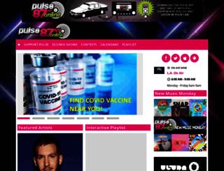 pulse87ny.com screenshot
