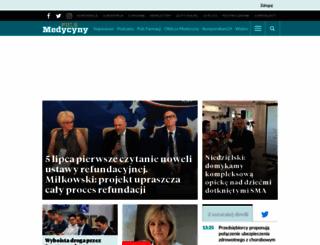 pulsmedycyny.com.pl screenshot