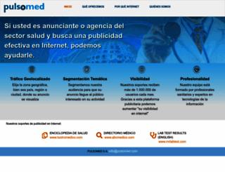 pulsomed.com screenshot