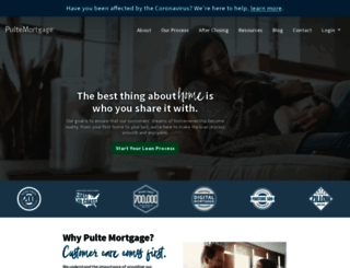 pultemortgage.com screenshot