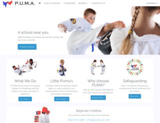 puma-uk.com screenshot