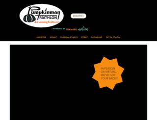 pumpkinmantriathlon.com screenshot