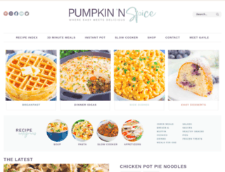 pumpkinnspice.com screenshot