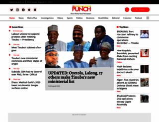 punchng.com screenshot