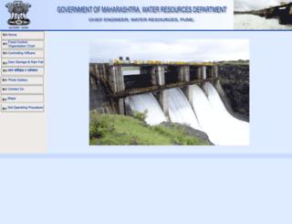 punefloodcontrol.com screenshot