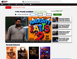 punjabimania.com screenshot