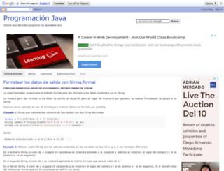puntocomnoesunlenguaje.blogspot.com.es screenshot