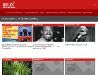 puntodevistainternacional.org screenshot