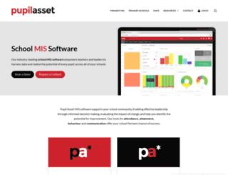 pupilasset.com screenshot
