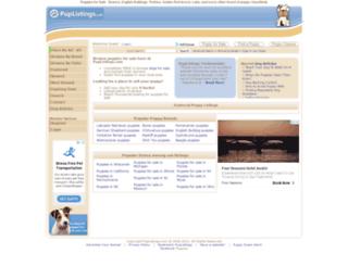 puplistings.com screenshot