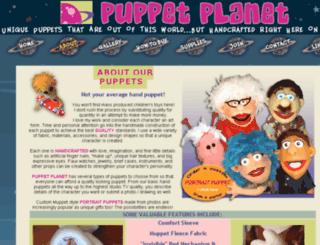 puppet-planet.com screenshot