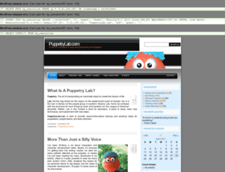 puppetrylab.com screenshot