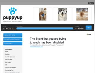 puppyupmadison.kintera.org screenshot