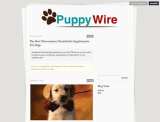 puppywire.tumblr.com screenshot