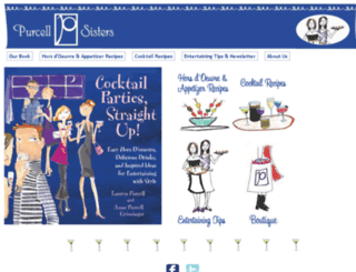 purcellsisters.com screenshot