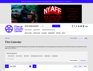 purchase.filmlinc.org screenshot