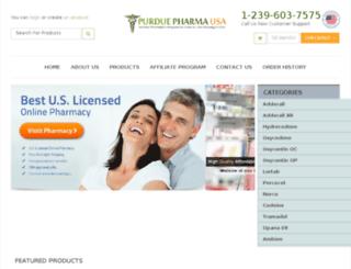 purduepharmausa.com screenshot