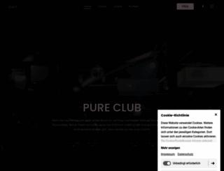 pure-clublife.de screenshot