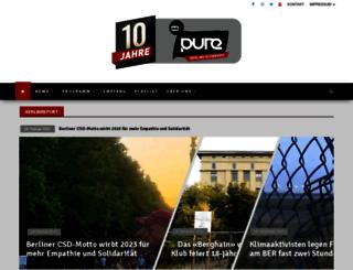 pure-fm.de screenshot
