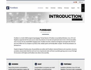 purebasic.com screenshot