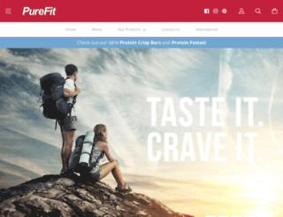 purefit.com screenshot