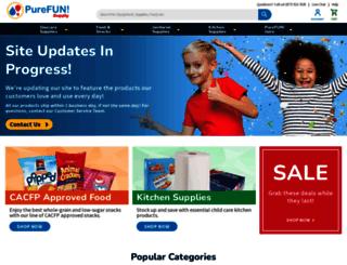 purefunsupply.com screenshot