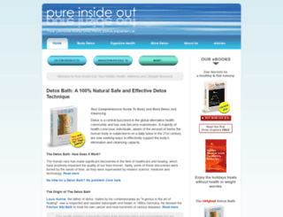 pureinsideout.com screenshot